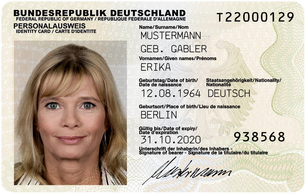 Gestatten... Erika Mustermann