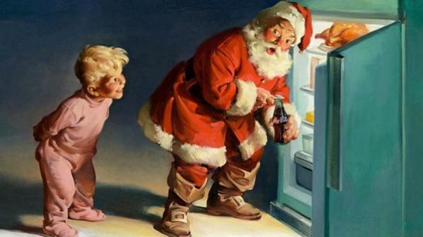 Santa Claus & Coca Cola