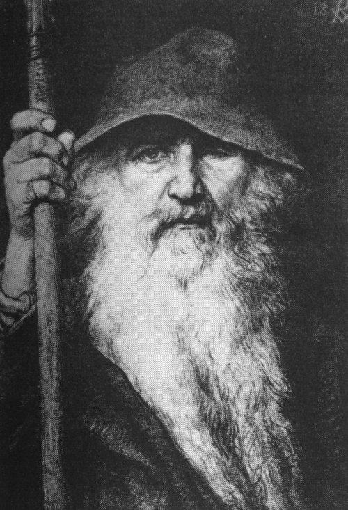 Odin, nach Georg von Rosen 1893