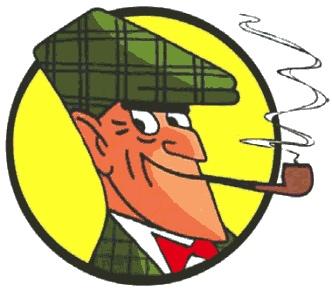 Ein weiterer bekannter Raucher... Meisterdetektiv Nick Knatterton