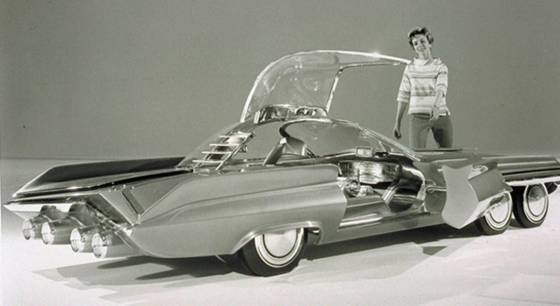 "Ford Seattlite XXI - Das ""atomgetriebene Batmobile"""