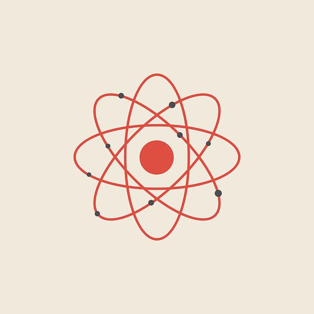 """Eine simplifizierte Skizze des Bohrschen Atommodells ist heute das Sinnbild für """"Atom"""""""